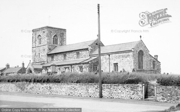 Photo of Aldbrough, The Church c.1960