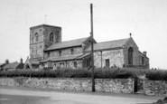 Aldbrough, The Church c.1960
