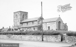 Aldbrough, The Church c.1960