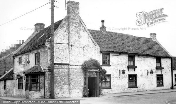 Photo of Aldbrough, The George And Dragon c.1955