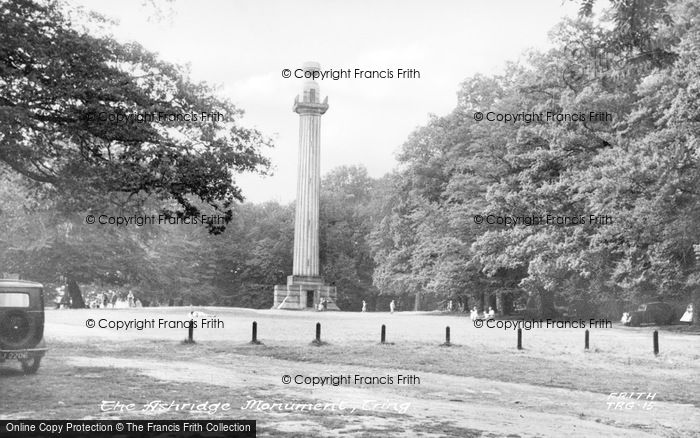 Photo of Aldbury, The Bridgewater Monument, Ashridge Estate c.1955