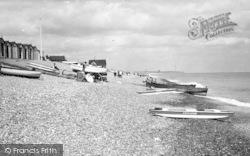 Aldeburgh, Beach Scene c.1950
