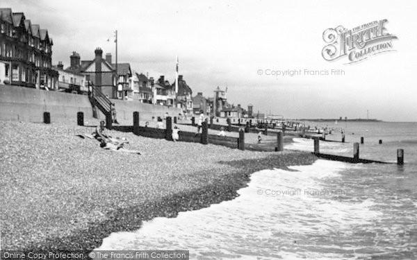 Photo of Aldeburgh, Beach Scene c.1952