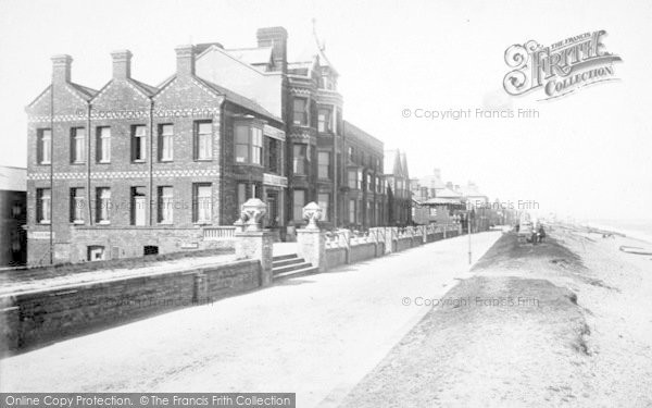 Photo of Aldeburgh, Brudenell's Hotel 1894