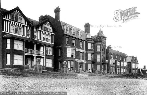 Photo of Aldeburgh, Brudenell's Hotel 1903