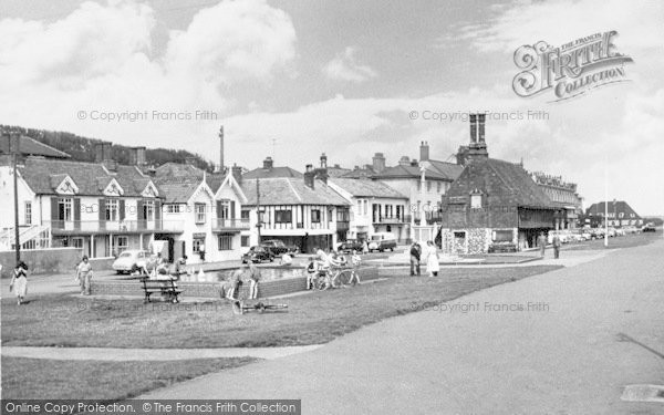 Photo of Aldeburgh, Children's Boating Pool And Moot Hall c.1960