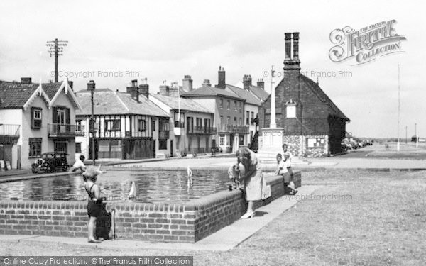 Photo of Aldeburgh, Children's Boating Pool c.1950