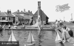 Aldeburgh, Children's Boating Pool c.1960