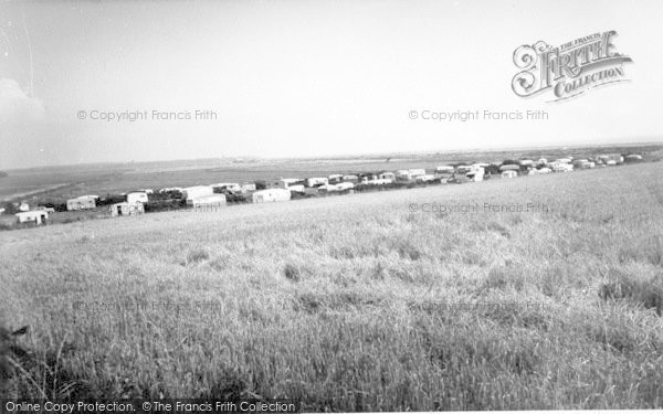 Photo of Aldeburgh, Church Farm Caravan Site c.1960