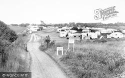 Church Farm Caravan Site c.1960, Aldeburgh