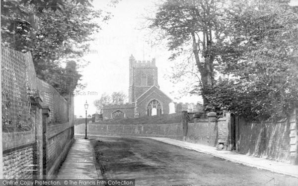 Photo of Aldeburgh, Church Hill 1901