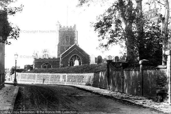Photo of Aldeburgh, Church Hill 1903