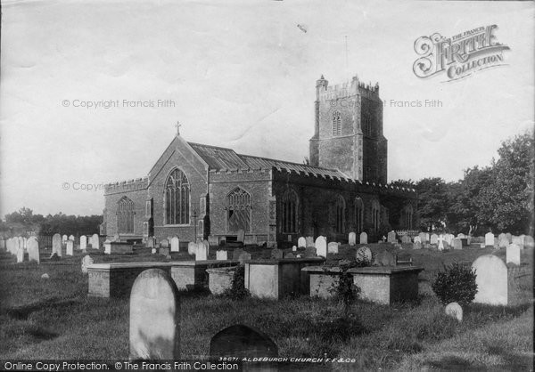 Photo of Aldeburgh, Church Of St Peter And St Paul 1896