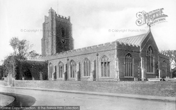 Photo of Aldeburgh, Church Of St Peter And St Paul 1903