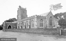 Aldeburgh, Church Of St Peter And St Paul c.1955