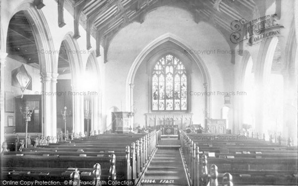 Photo of Aldeburgh, Church Of St Peter And St Paul, Interior 1894