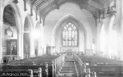 Aldeburgh, Church Of St Peter And St Paul, Interior 1894