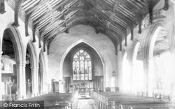 Aldeburgh, Church Of St Peter And St Paul, Interior 1903