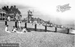 Aldeburgh, Coastguard Station c.1950