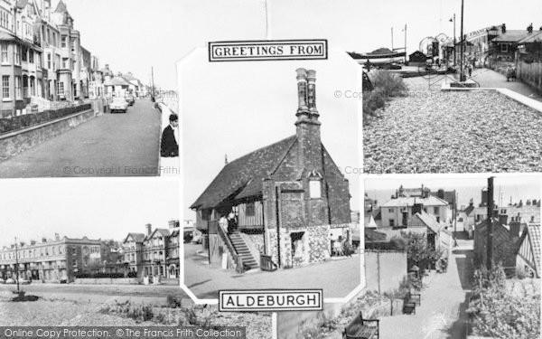 Photo of Aldeburgh, Composite c.1960