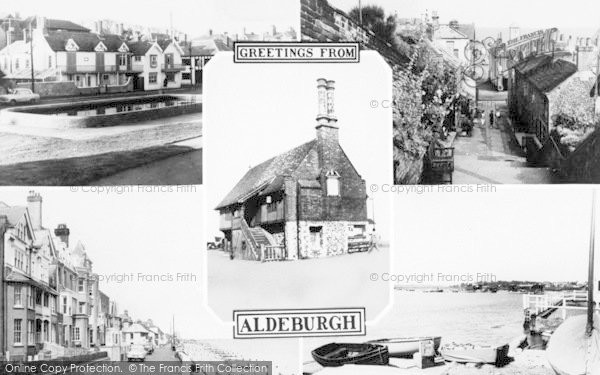 Photo of Aldeburgh, Composite c.1960
