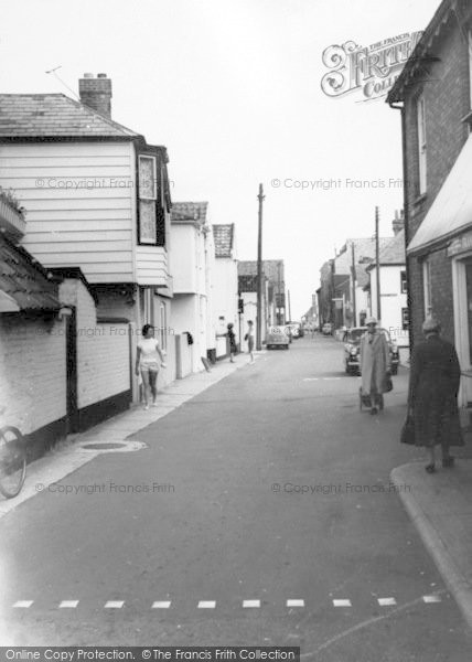 Photo of Aldeburgh, Crabbe Street c.1965