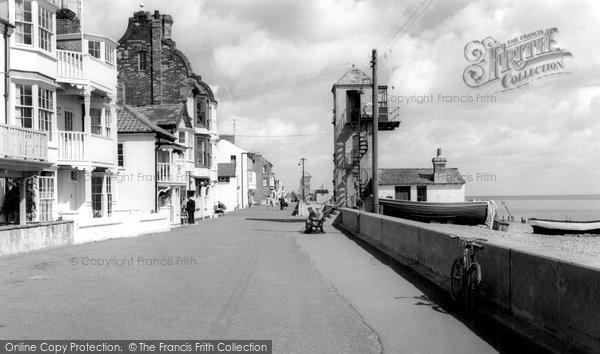 Photo of Aldeburgh, Crag Path c.1960