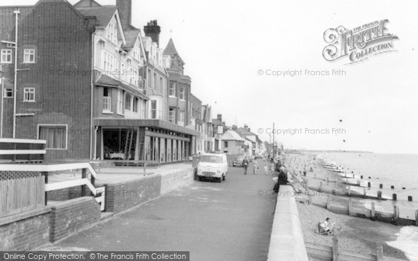 Photo of Aldeburgh, Crag Path c.1965