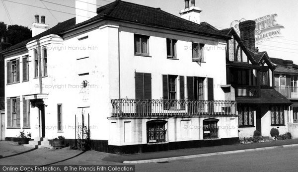 Photo of Aldeburgh, Dial House c.1955