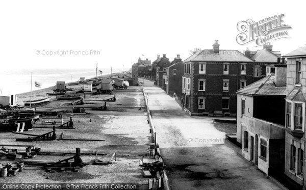 Photo of Aldeburgh, Esplanade 1894