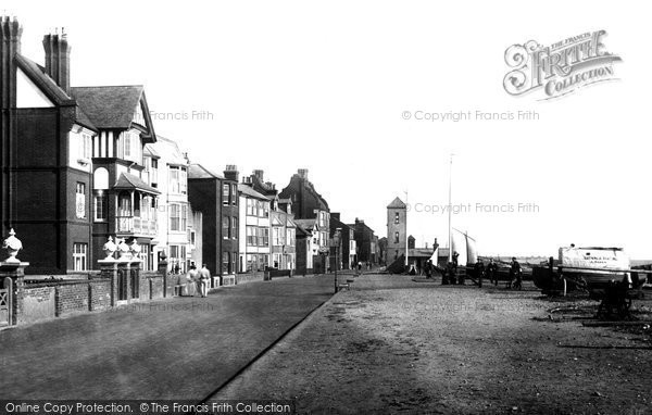 Photo of Aldeburgh, Esplanade 1896
