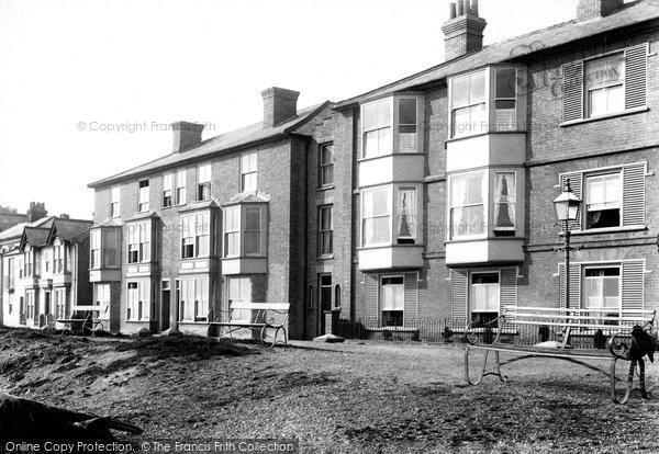 Photo of Aldeburgh, Grosvenor And South Parade 1903