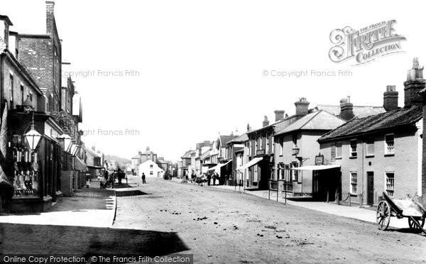 Photo of Aldeburgh, High Street 1894