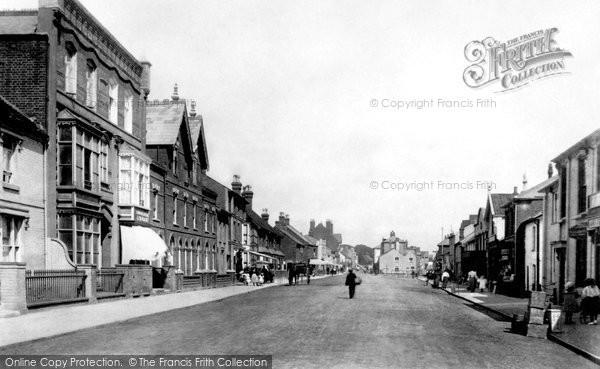 Photo of Aldeburgh, High Street 1896