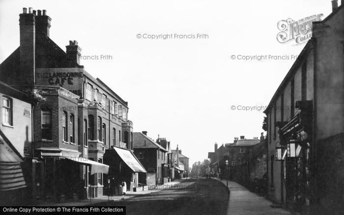 Photo of Aldeburgh, High Street 1901