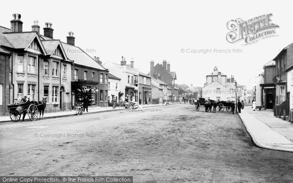 Photo of Aldeburgh, High Street 1909