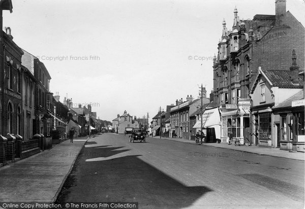 Photo of Aldeburgh, High Street 1922