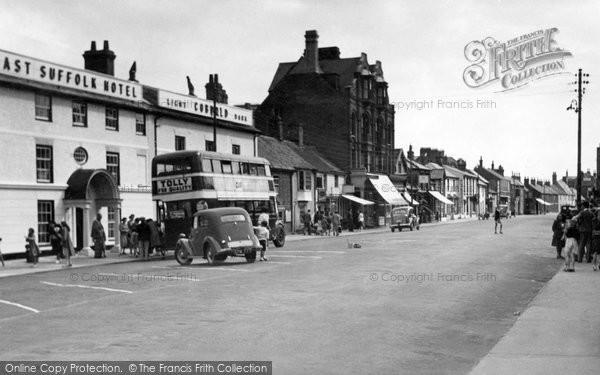 Photo of Aldeburgh, High Street c.1950