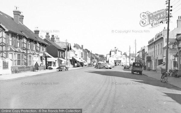 Photo of Aldeburgh, High Street c.1955