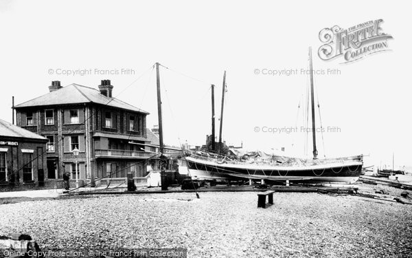 Photo of Aldeburgh, Lifeboat And Library 1901