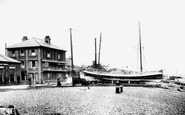 Aldeburgh, Lifeboat And Library 1901