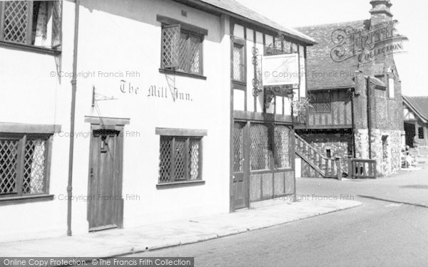 Photo of Aldeburgh, Mill Inn And Moot Hall c.1960