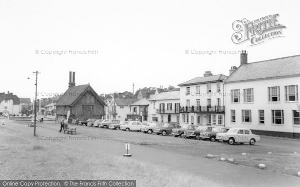 Photo of Aldeburgh, Moot Green c.1965