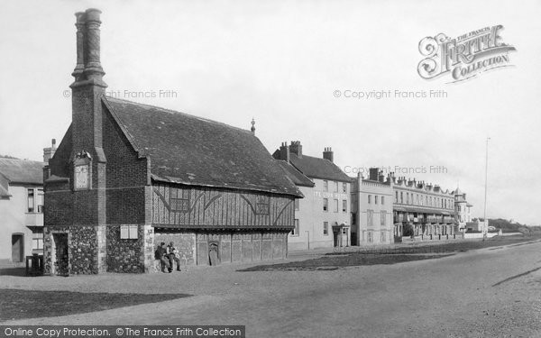 Photo of Aldeburgh, Moot Hall 1896
