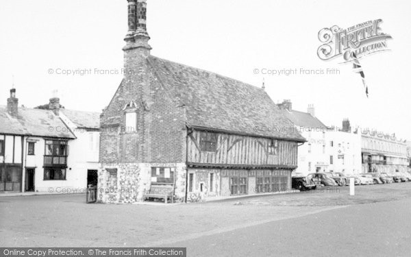 Photo of Aldeburgh, Moot Hall c.1965