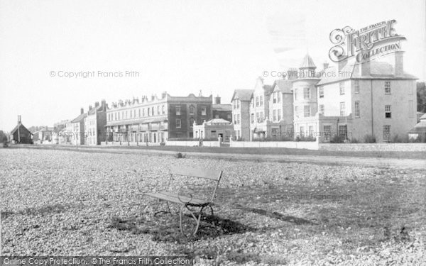 Photo of Aldeburgh, North Esplanade 1896
