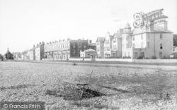 Aldeburgh, North Esplanade 1896