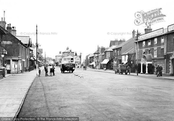 Photo of Aldeburgh, Old Market Square 1929
