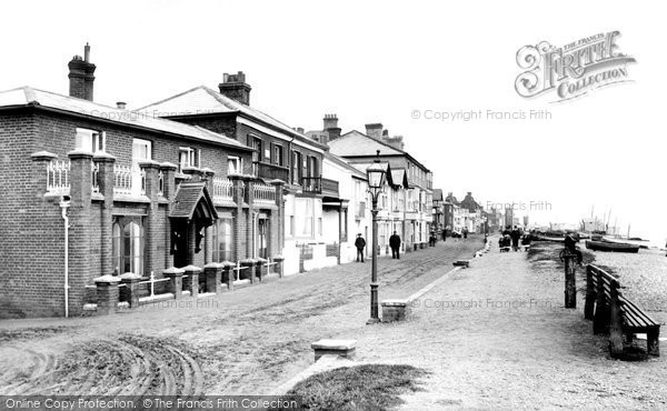 Photo of Aldeburgh, Parade 1908