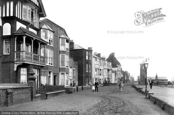 Photo of Aldeburgh, Parade 1909